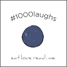 1000 laughs marble button-2