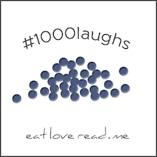 1000 laughs sequins button