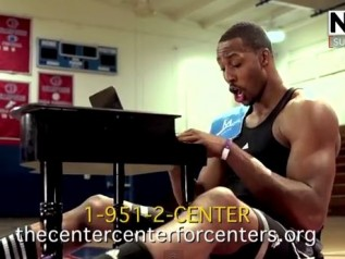 dwight howard save the center funny video